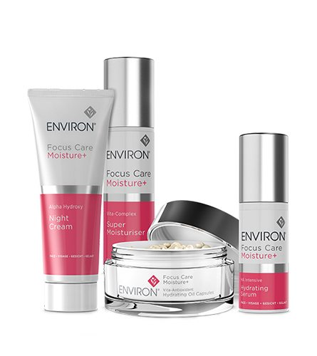 Focus-Care-Moisture-Plus-Range-Environ-Skin-Care